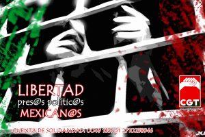 Puestos en libertad 12 pres@s polític@s en México