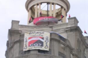Barcelona: Asalto de CCOO al local de CGT en vía Laietana