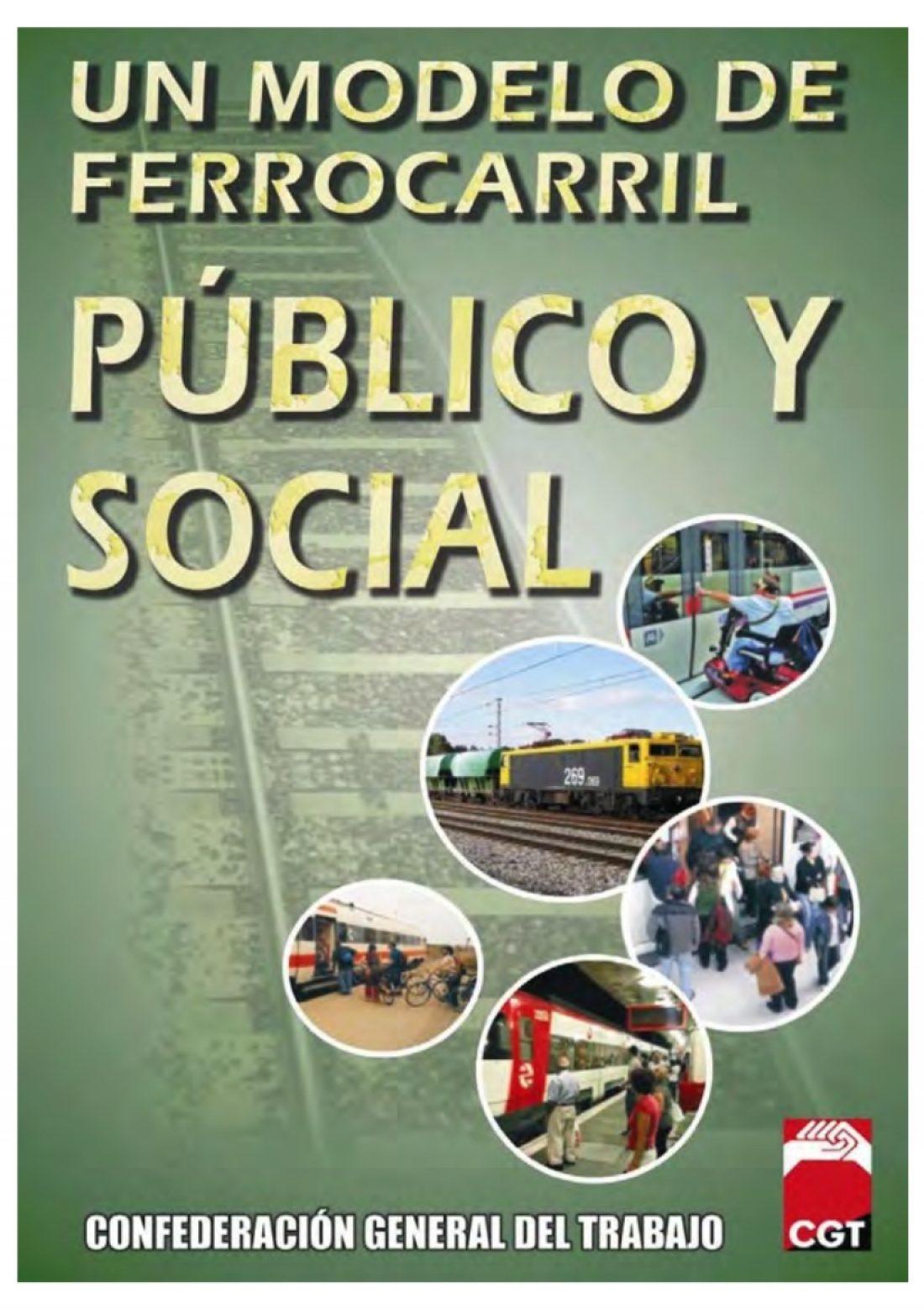 CGT presenta su propuesta de Modelo de Ferrocarril