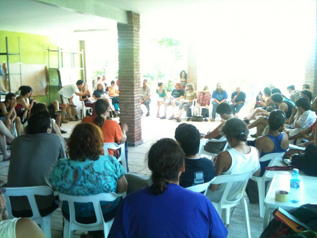 El antimilitarismo ibérico y europeo concluye su encuentro en Jarandilla de la Vera (3/8/2010)