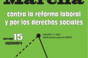 La Confederación del País Valencià y Murcia prepara su calendario de movilizaciones de cara a la Huelga General del 29-S