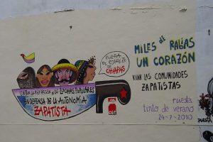 Informaciones de Chiapas y de la visita de CGT a la zona.