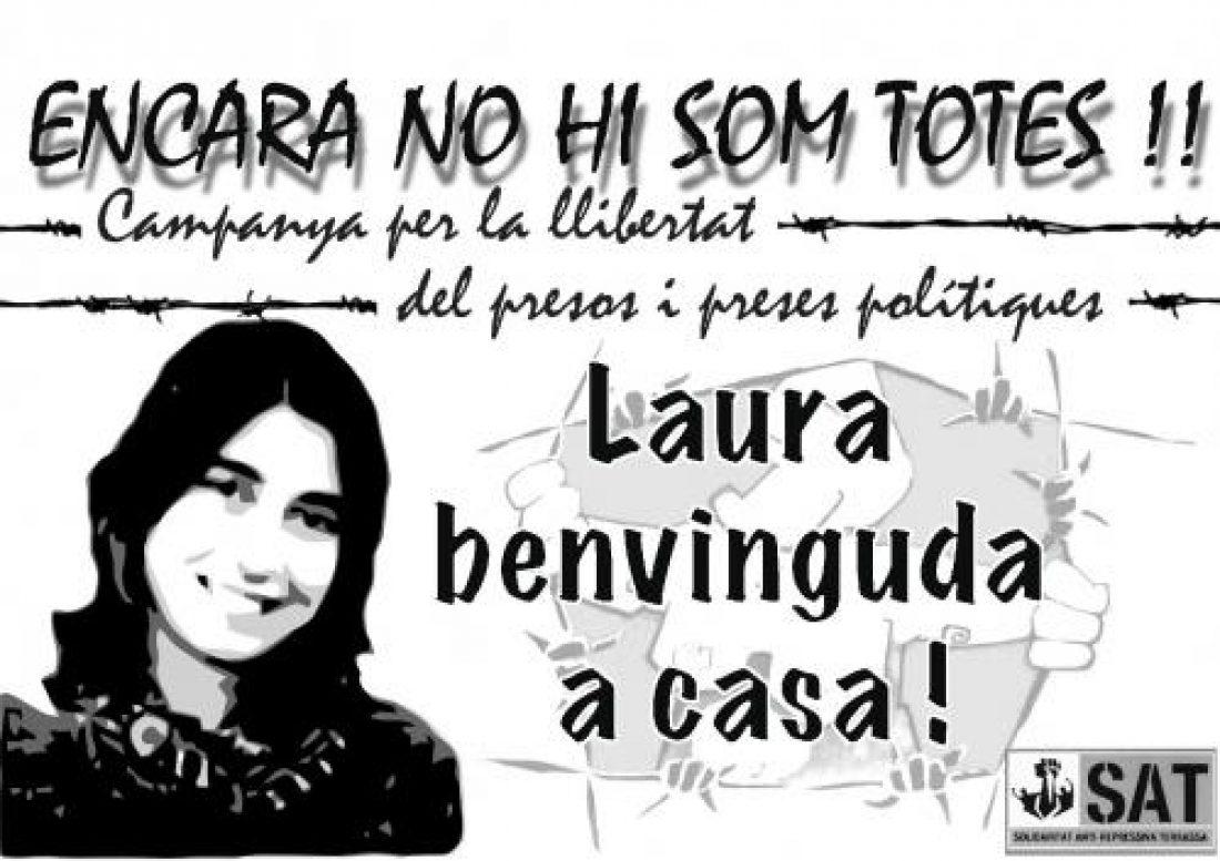 La compañera Laura Riera saldrá de la cárcel el 21 de agosto CGT