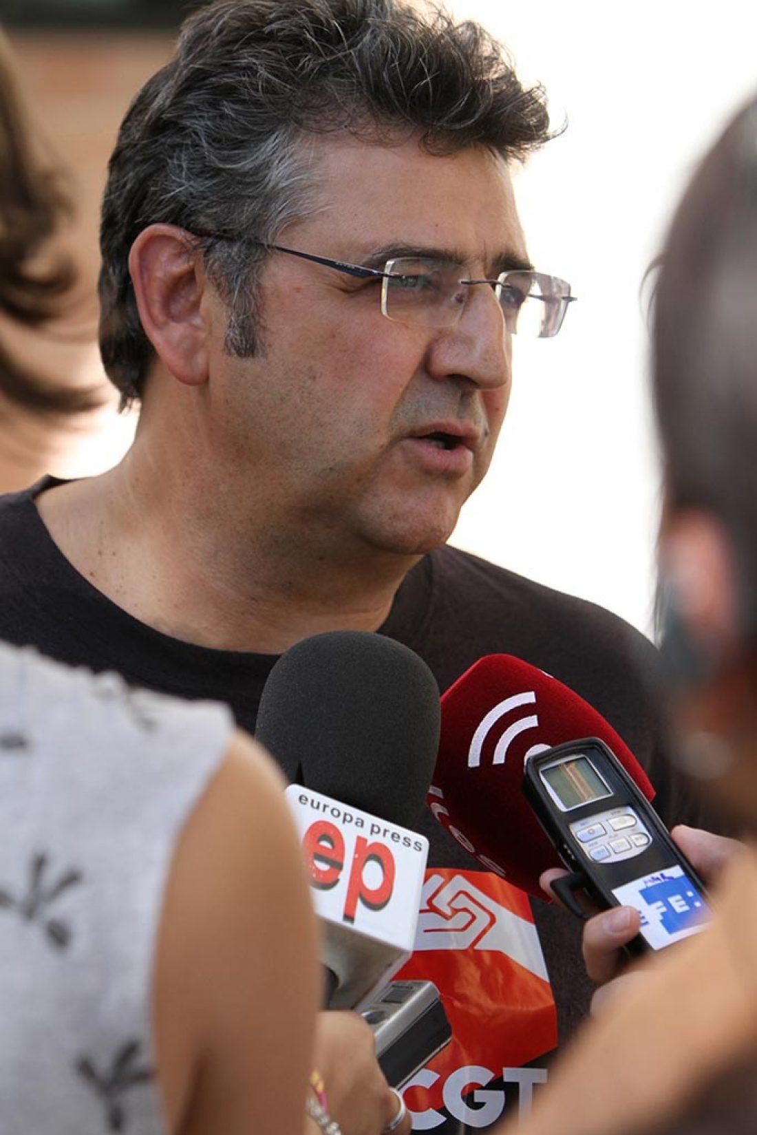 CGT presentó su Convocatoria de Huelga General para el 29 de Septiembre (27/8/2010)