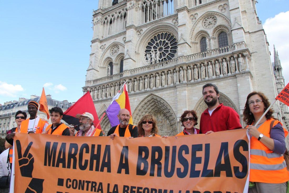La Marcha a Bruselas sigue su avance