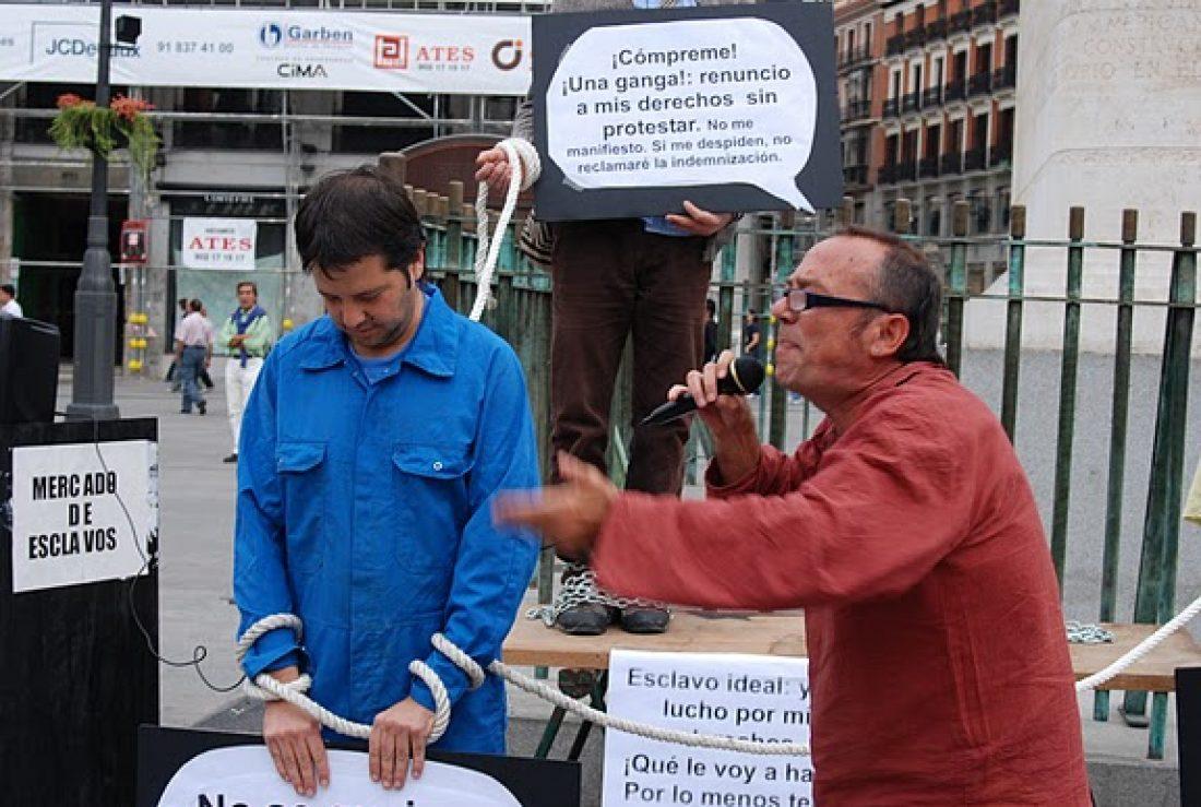 Organizaciones sindicales y sociales denuncian que la reforma laboral provoca «trabajo esclavo»