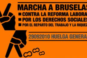 La Marcha a Bruselas llegan a su destino