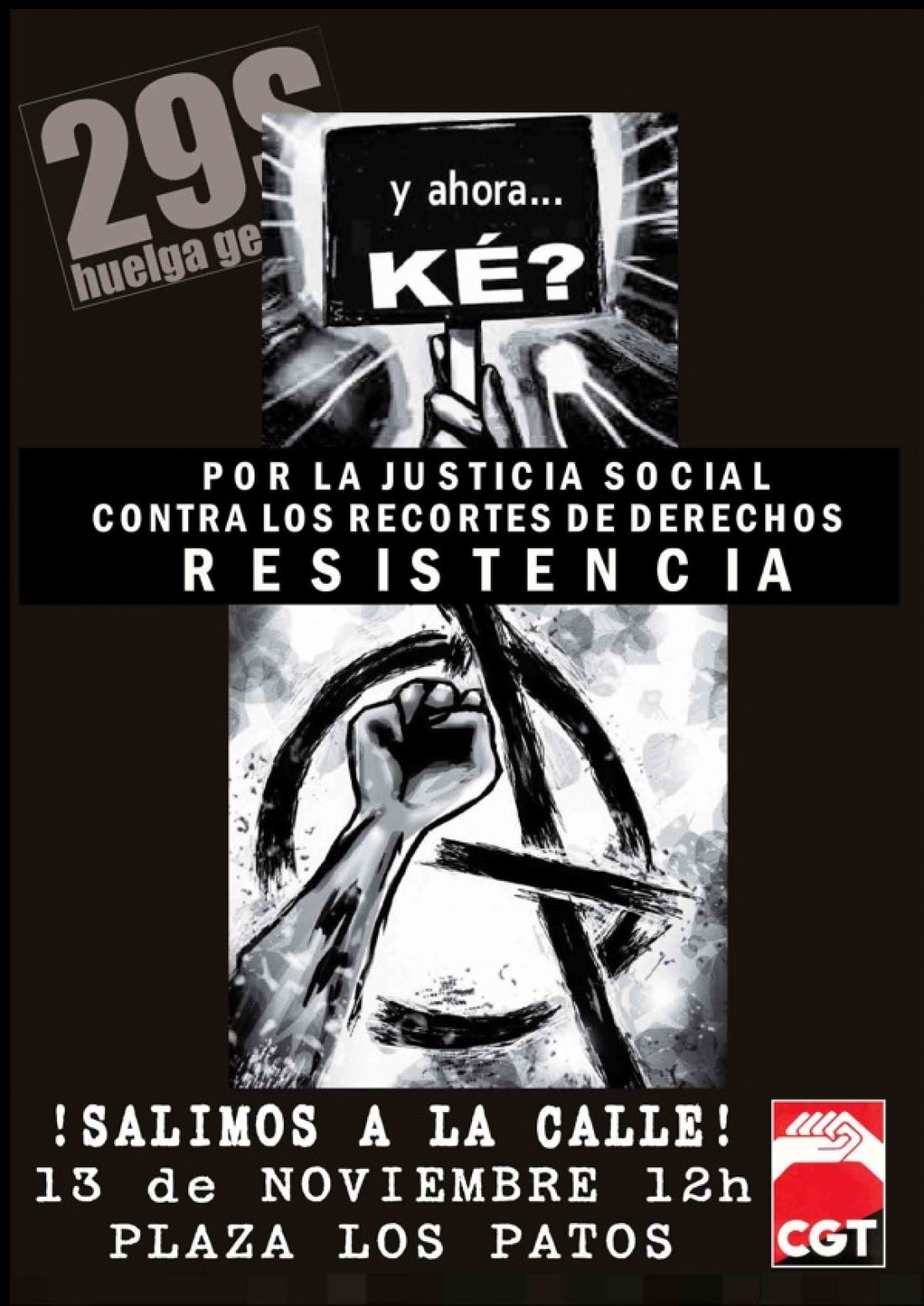 Tenerife, 13 de noviembre: Manifestación contra el decretazo y la reforma laboral
