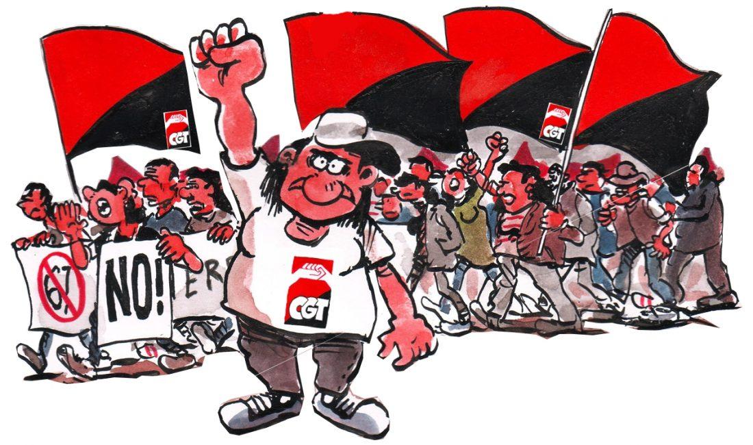 Nuevas Movilizaciones de la CGT. Noviembre de 2010