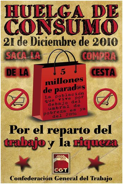 21 de Diciembre: ¡Huelga de consumo!