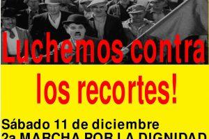 Alacant, 11 y 18 de diciembre: Tras la huelga general 29-S, seguimos adelante!