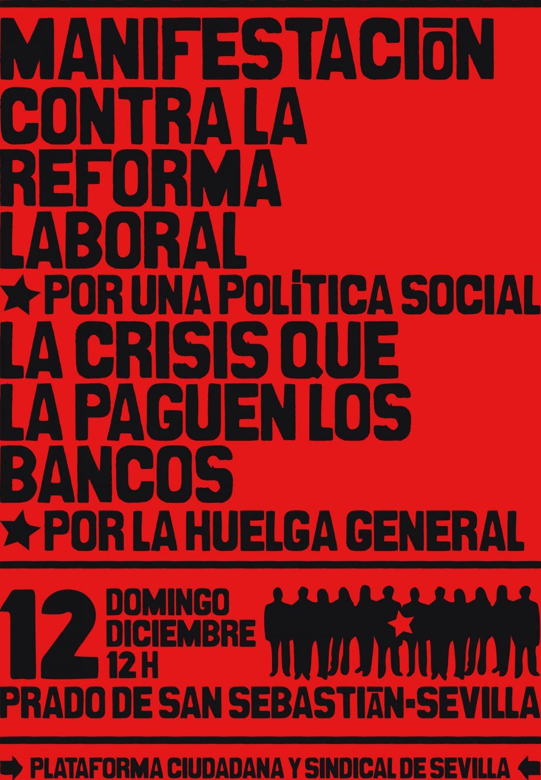 Sevilla, 12 de Diciembre: Manifestación «Que la crisis la paguen los bancos!»