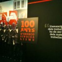Inaugurada en Barcelona la Exposición «100 años de Anarcosindicalismo»