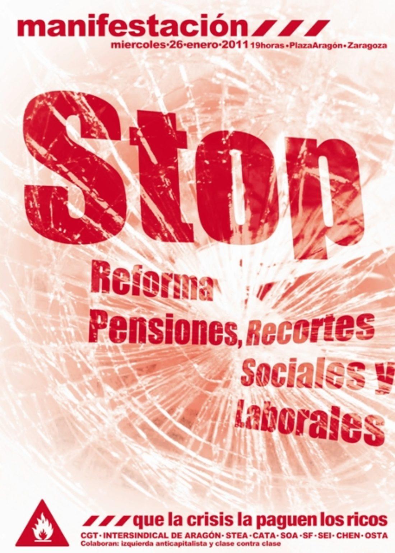 Movilizaciones en Aragón y La Rioja