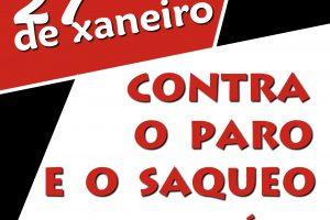 27 de Enero: CGT Galicia convoca Huelga General