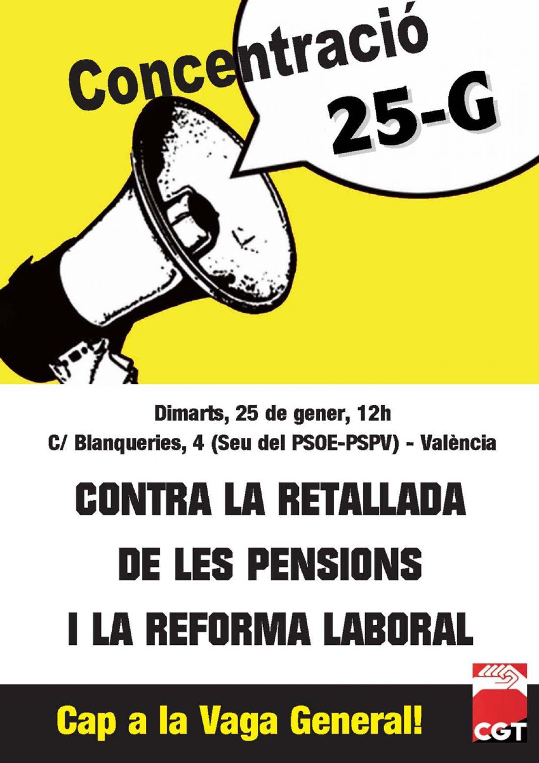 Movilizaciones en el País Valencià contra las políticas antisociales del gobierno