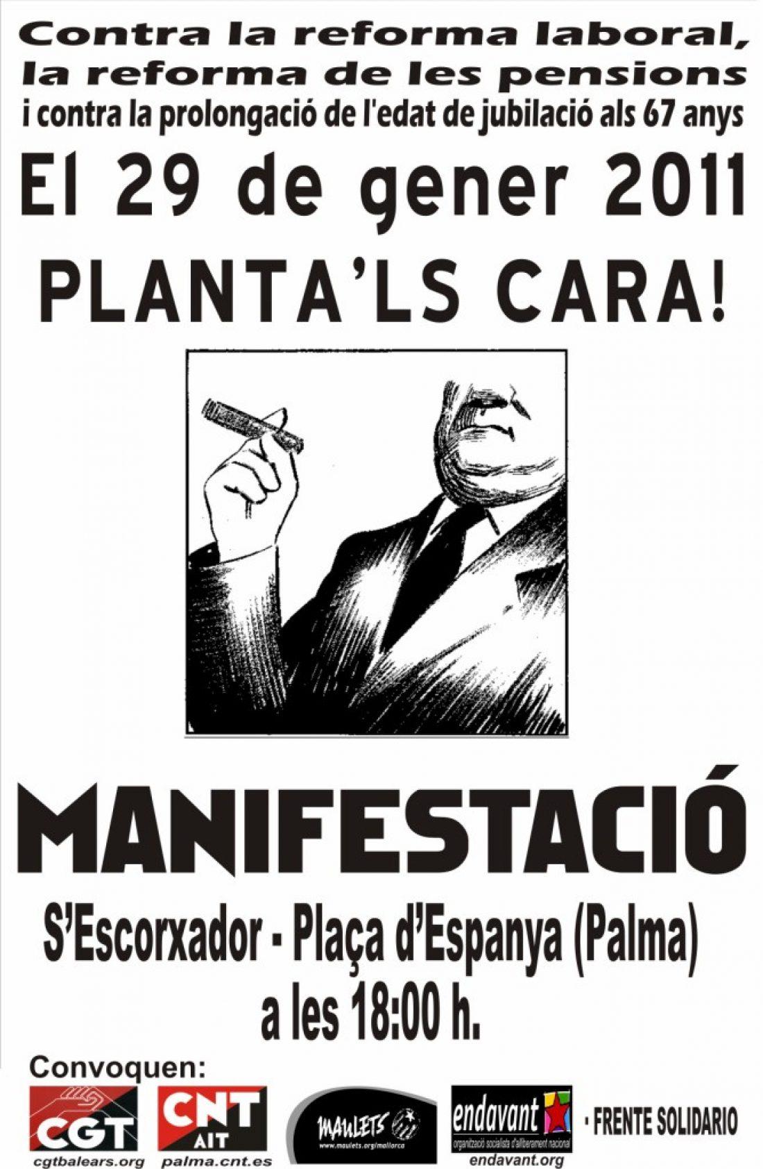 Illes Balears: Por la Huelga General! En solidaridad con Euskal Herria, Catalunya y Galiza
