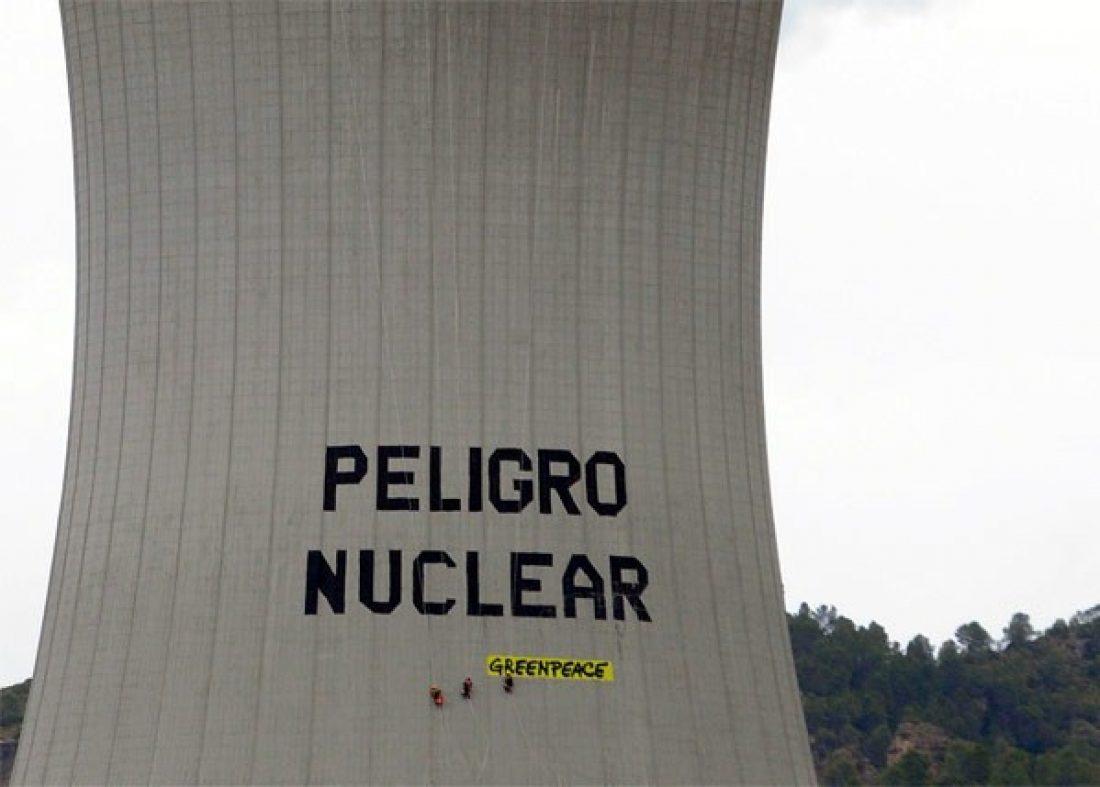 CGT exige la libertad de los 16 detenidos tras la acción de Greenpeace en la central nuclear de Cofrentes