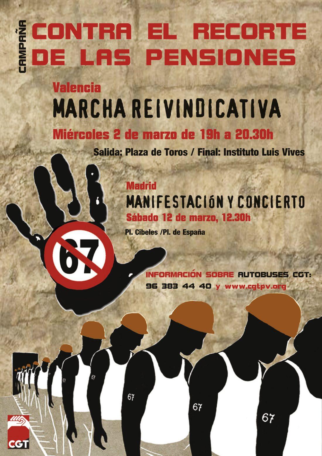 Valencia, 2 de Marzo: Asamblea de delegad@s, y Jornada de Lucha contra los recortes