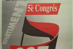 Cartel V Congrés CGT Catalunya (Barcelona, 1995)