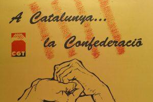 Cartel IV Congrés CGT Catalunya (Lleida 1992)