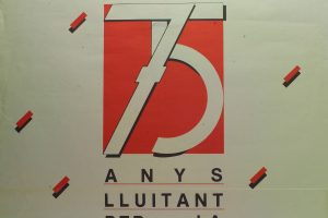 Cartel II Congreso CNT Catalunya (Barcelona 1985)
