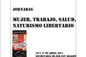 Zaragoza, 26 y 27 de Abril: Jornadas «Mujer, trabajo, salud, naturismo libertario»