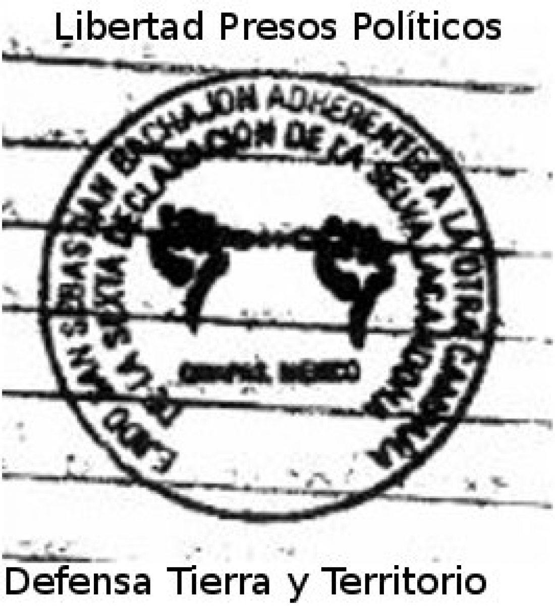 Desde Europa: ¡Libertad a todos los presos de la Otra Campaña y a las bases de apoyo del EZLN!