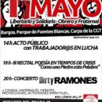 Convocatorias de CGT para el Primero de Mayo