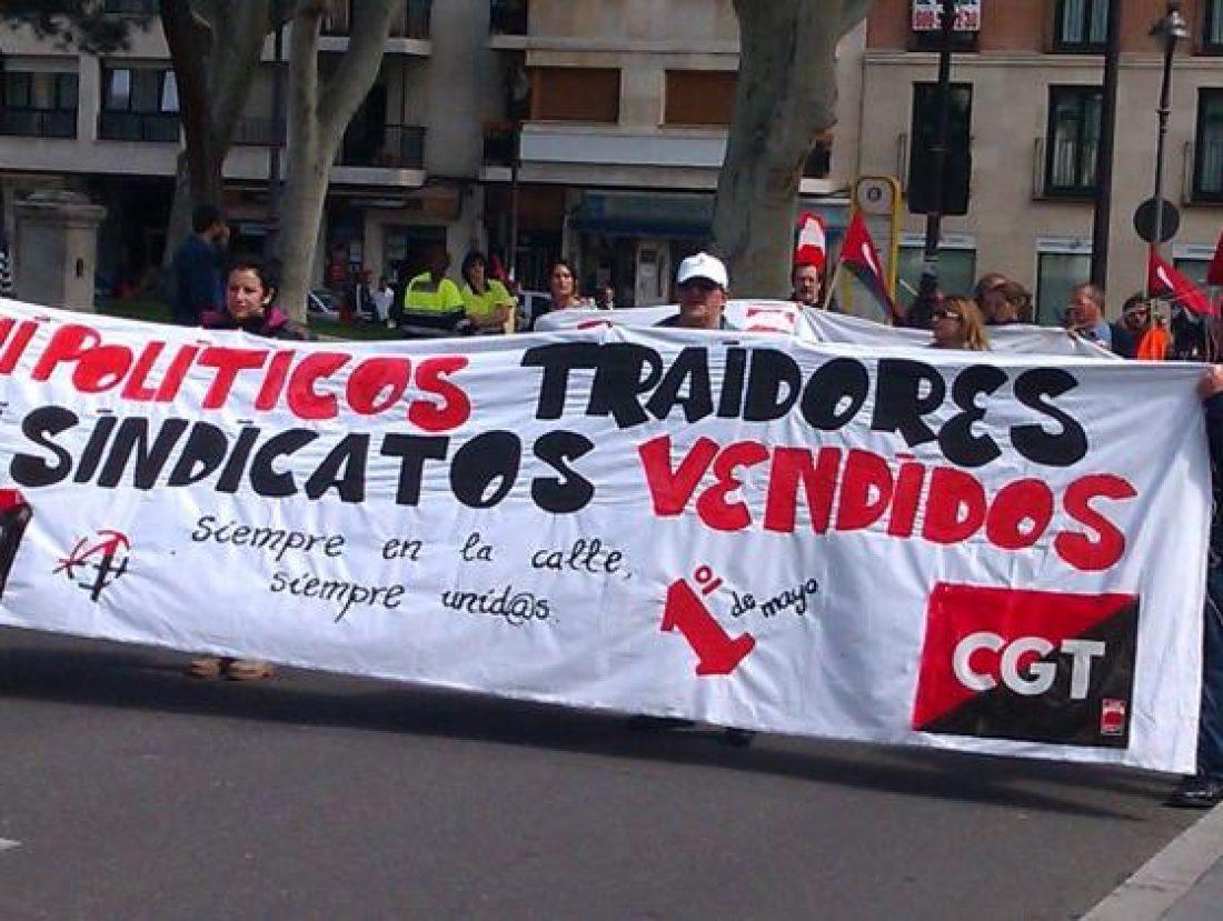Primero de Mayo 2011: Contra la crisis. Es hora de pasar a la acción! Resumen de crónicas e imágenes.