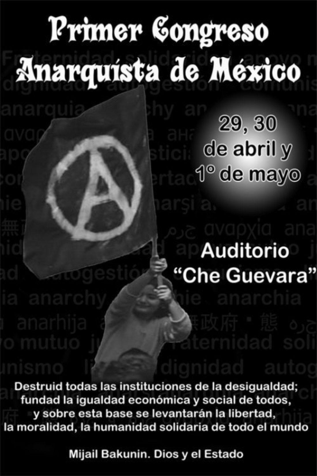 Saluda de la CGT al I Congreso Anarquista de México