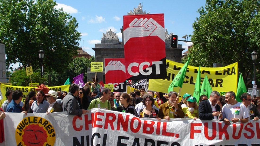 Madrid se manifiesta por el cierre de las nucleares (8.5.2011)