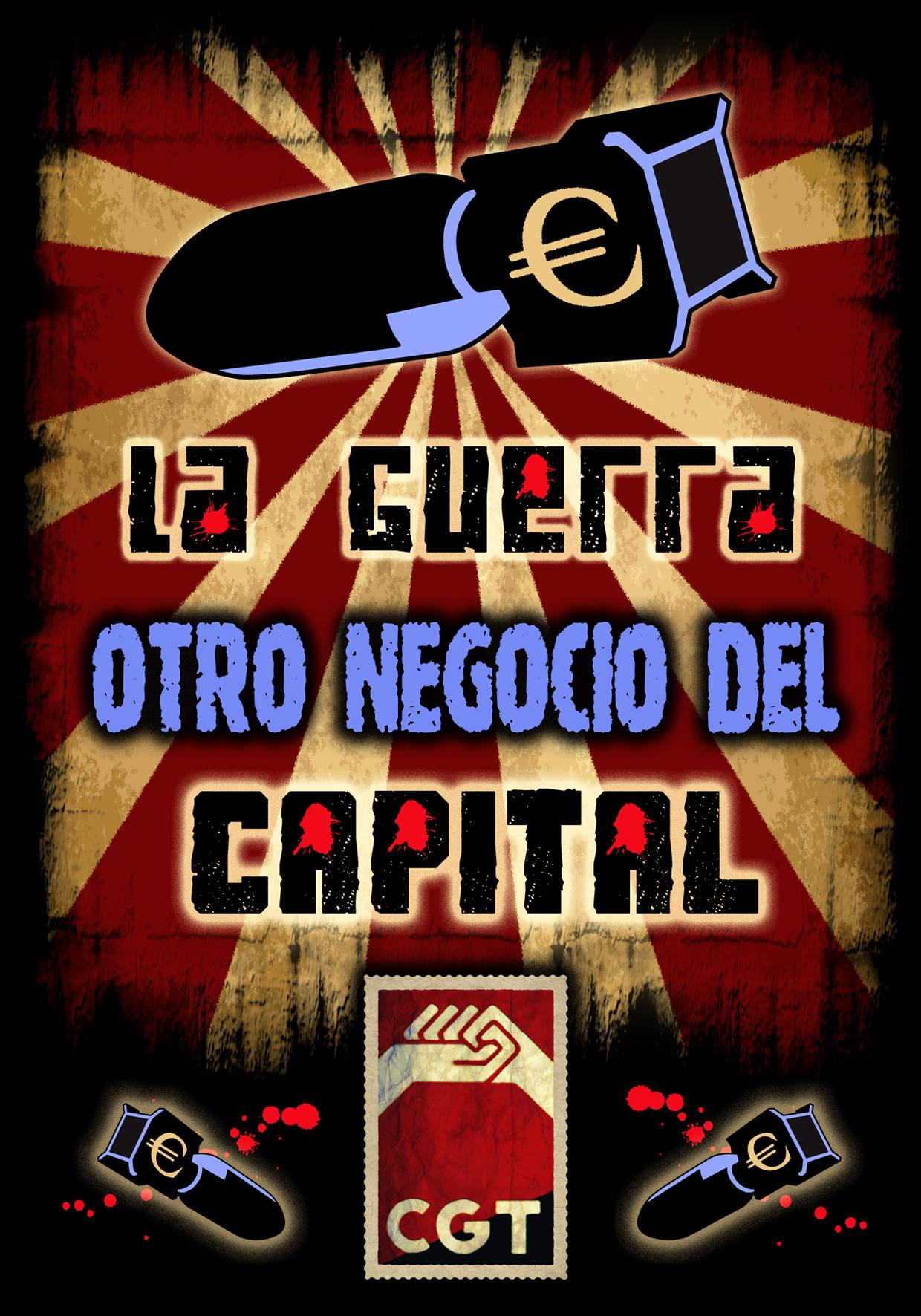 La guerra: otro negocio del capital!