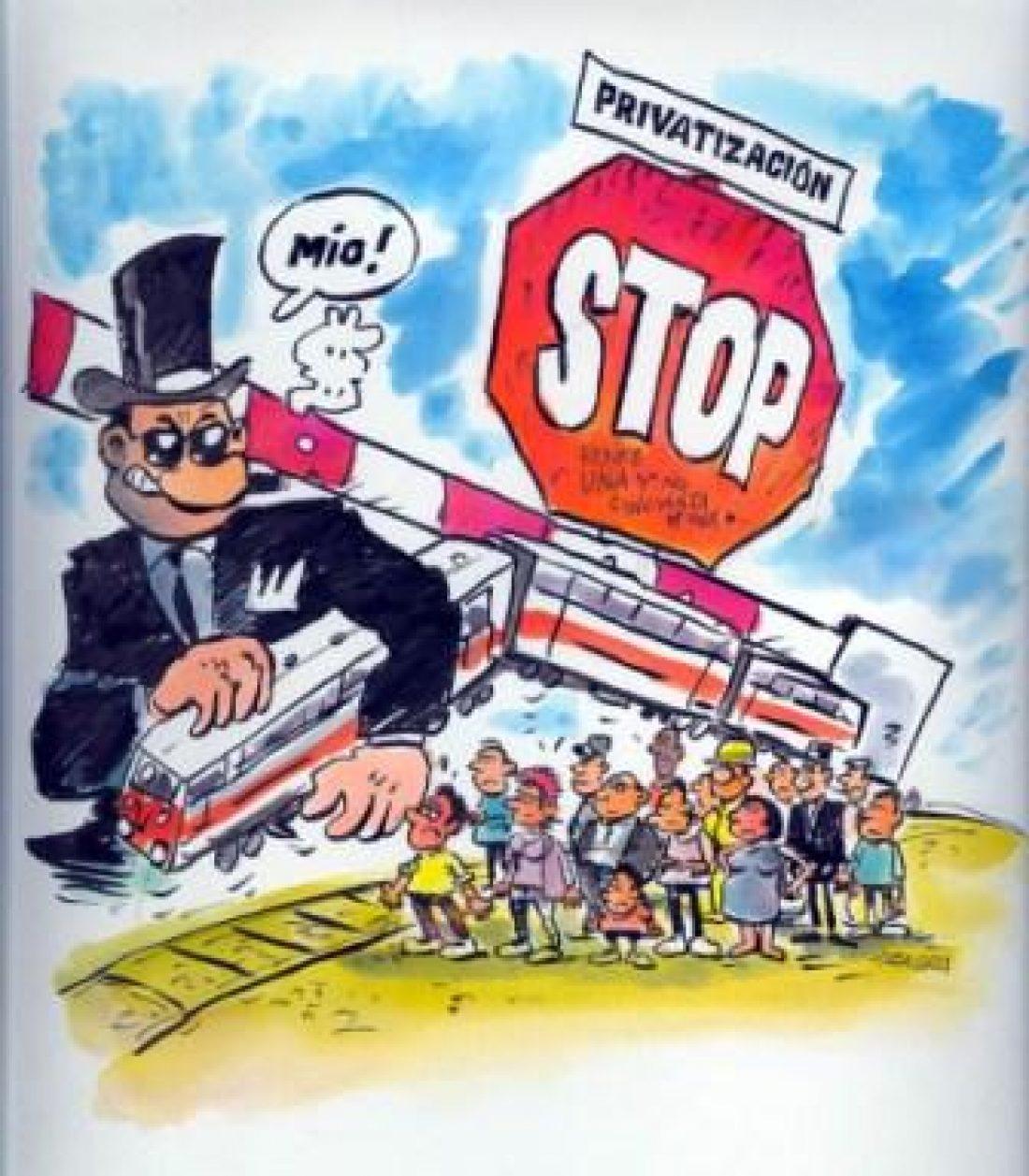 CGT dice NO a la privatización de Renfe