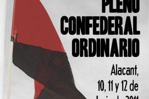 Resoluciones del Pleno Confederal de la CGT (Alacant, 10, 11 y 12 de junio)