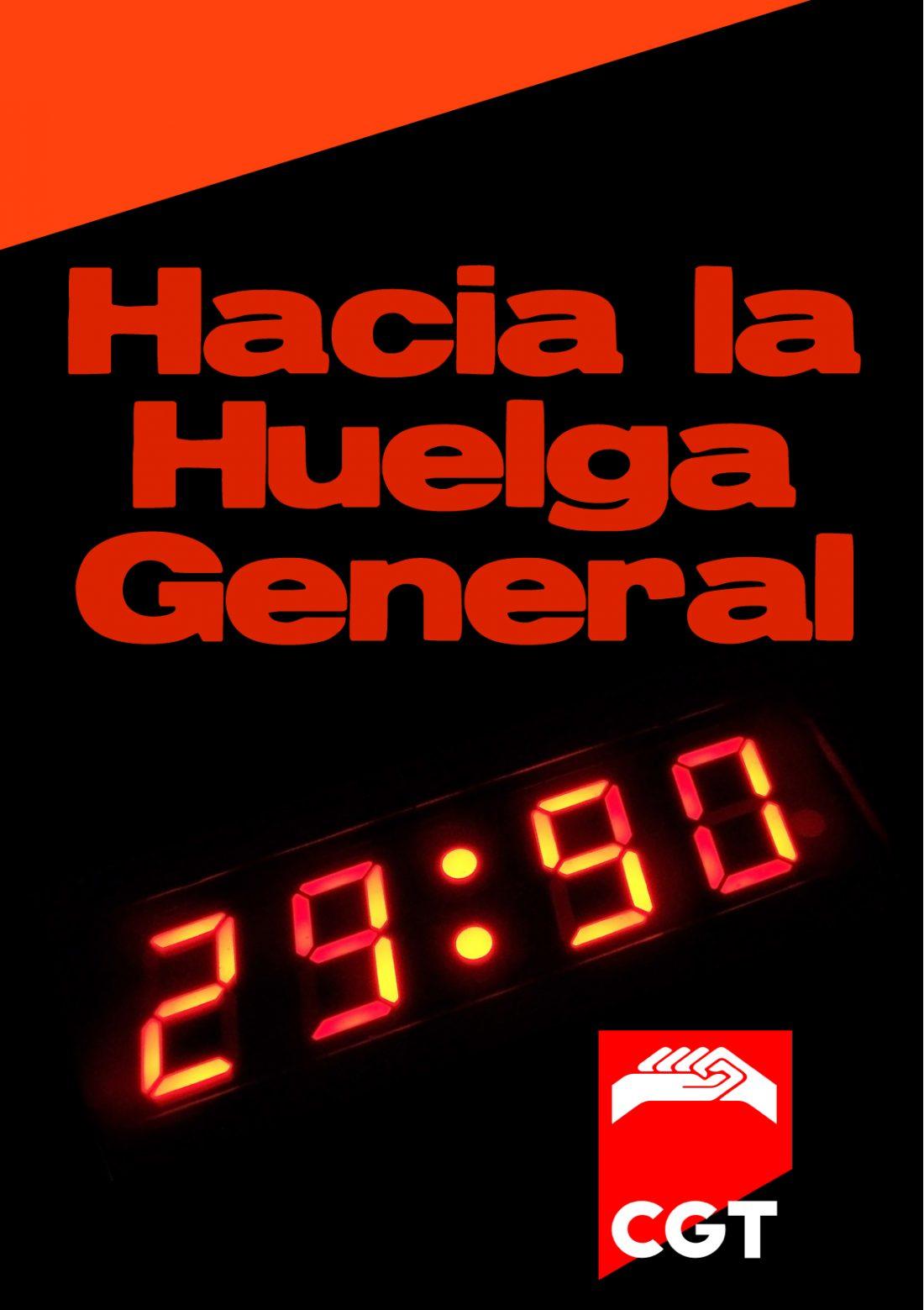 Comunicado CGT-CNT-SO: Hacia la Huelga General (29.6.2011)