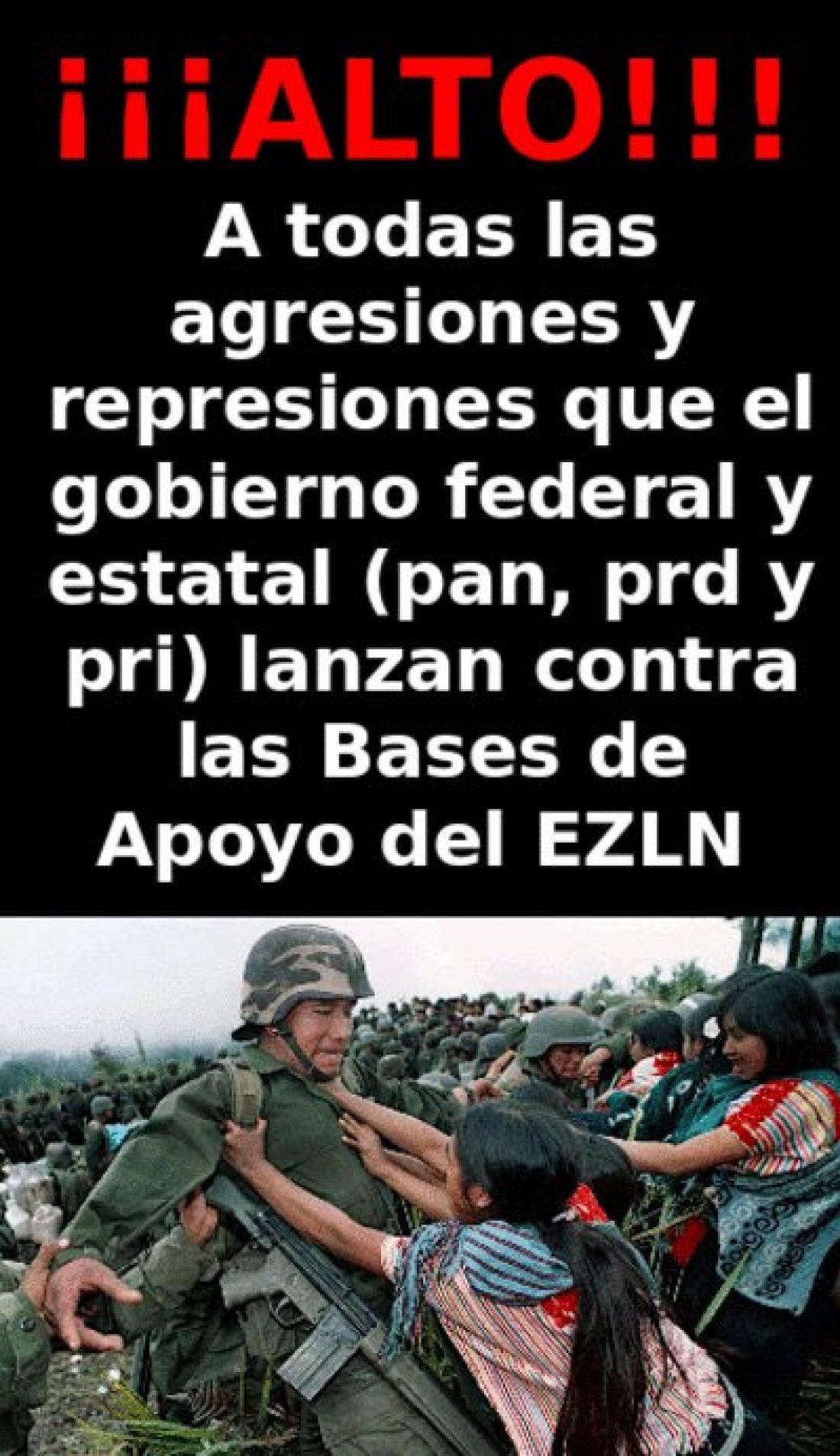 CGT se indigna ante las torturas y amenazas a Bases de apoyo Zapatistas (BAZ)