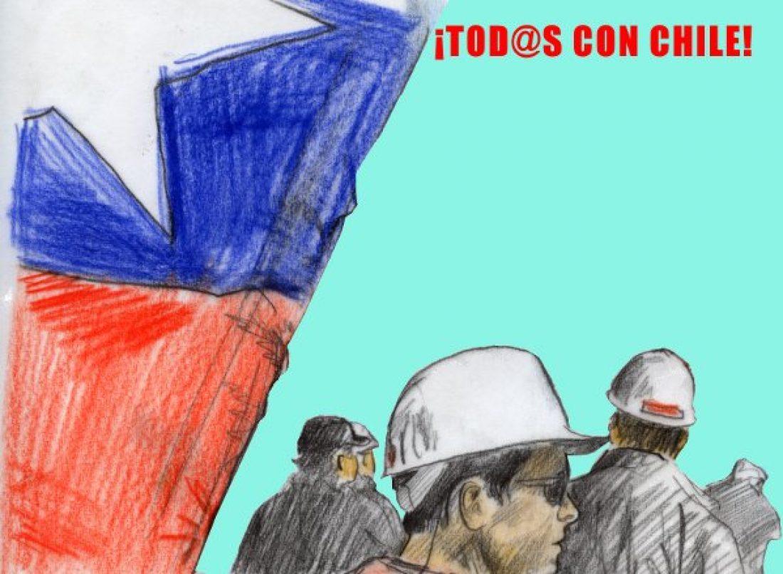 CGT condena la brutal represión del gobierno chileno a los manifestantes