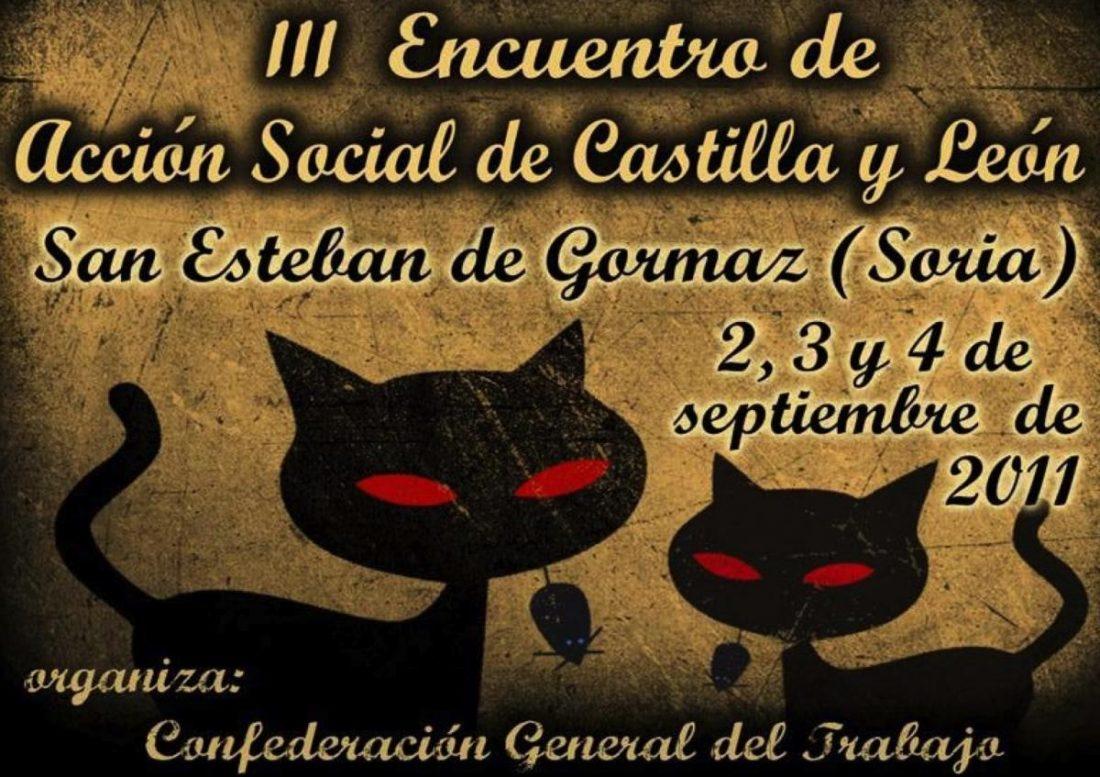 III Encuentro de Acción Social de CGT Castilla y León – Cantabria