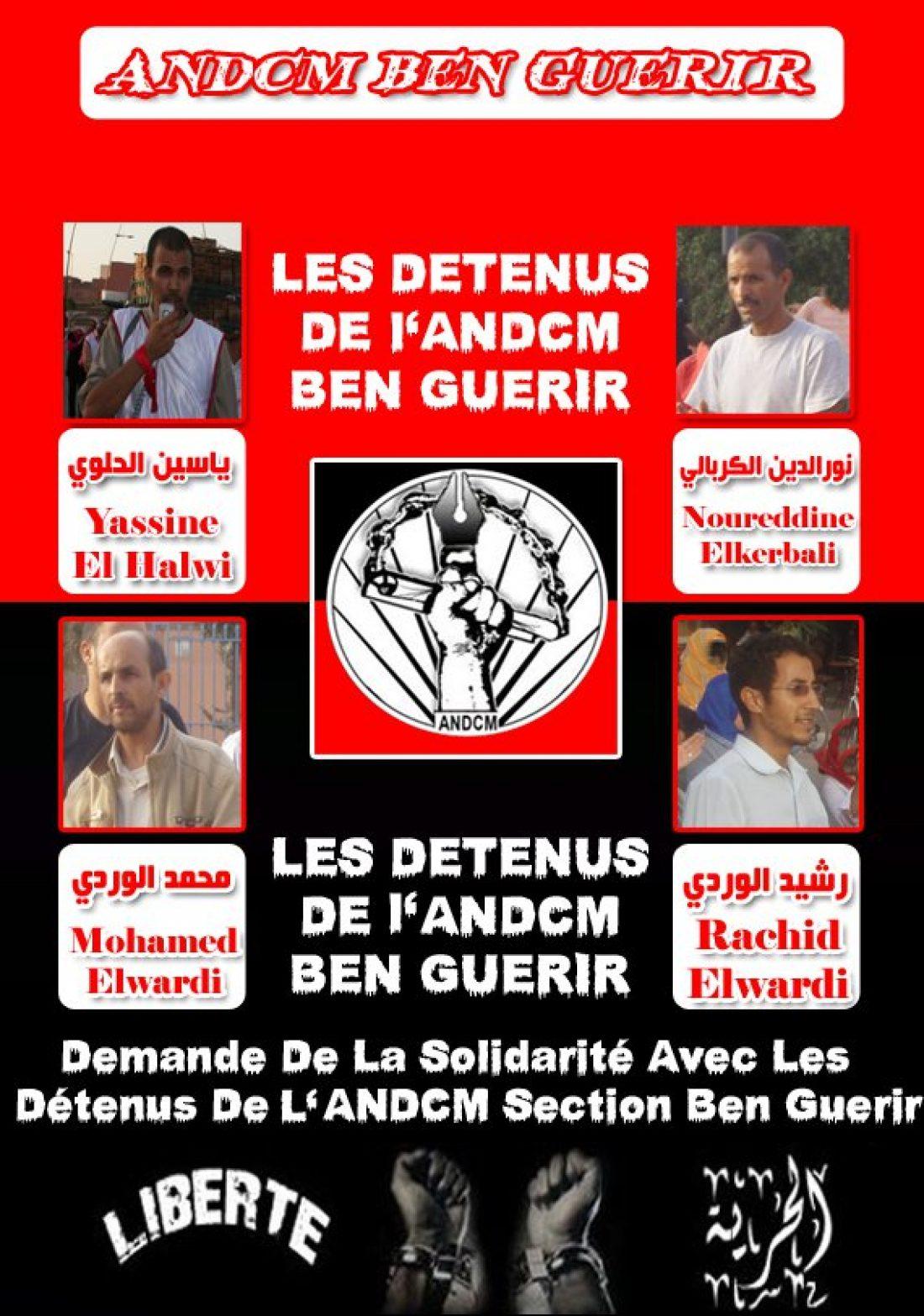 La CGT se solidariza con los presos de la ANDCM de Ben Guerir