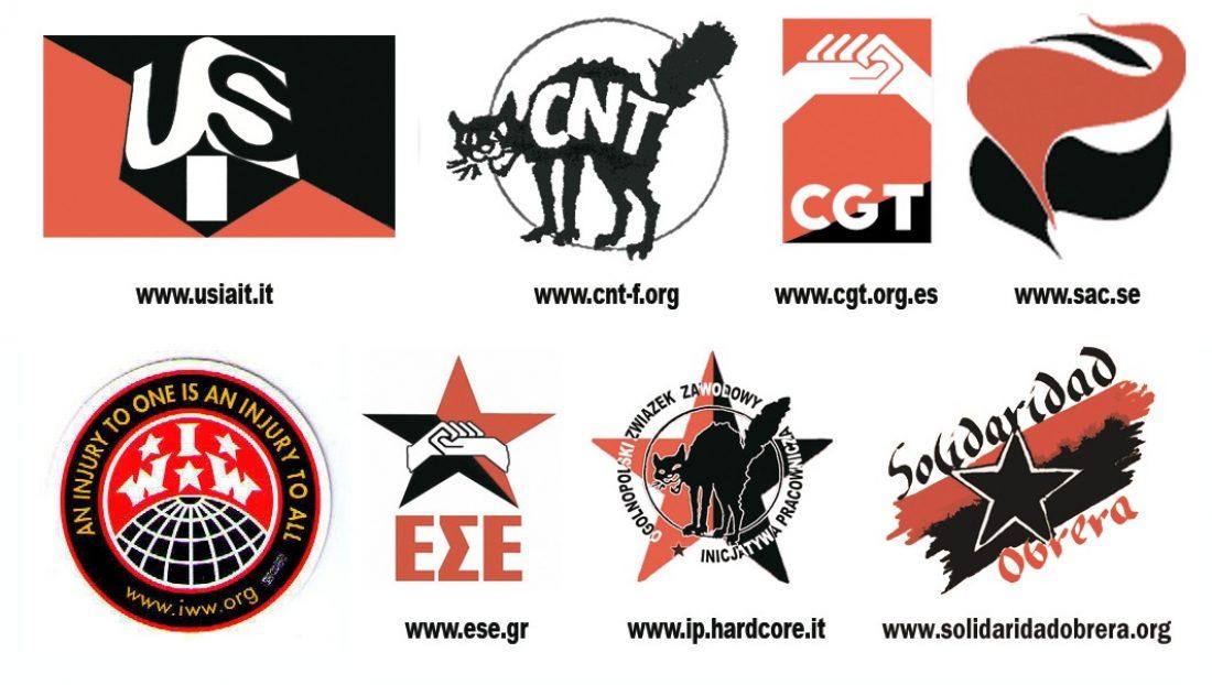 Comunicado de la Coordinadora Roja y Negra de apoyo a la jornada de lucha convocada por CGT-CNT-SO-CSC