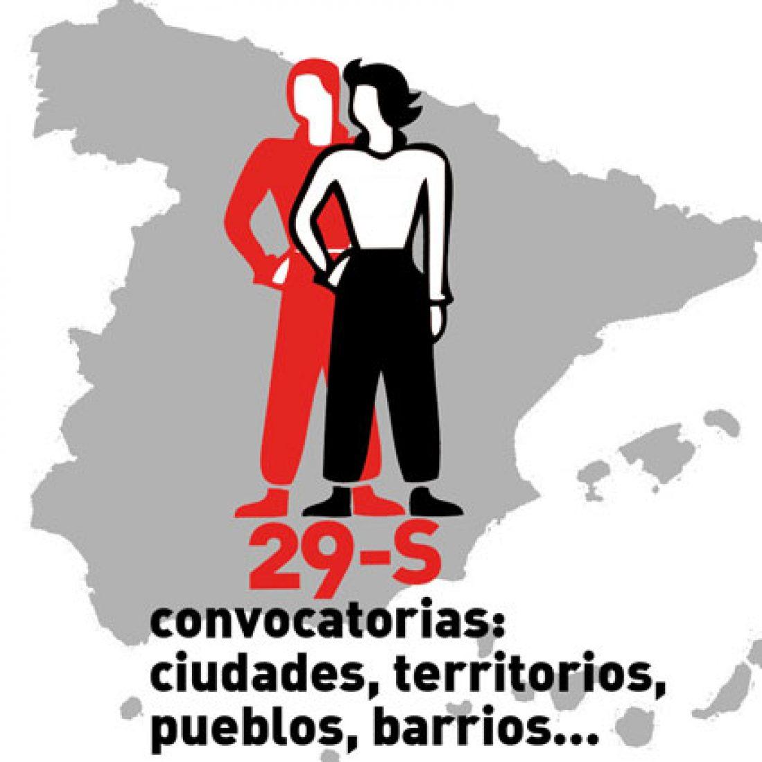 MANIFESTACIONES 29S. «La lucha está en la calle. Hacia la Huelga General»