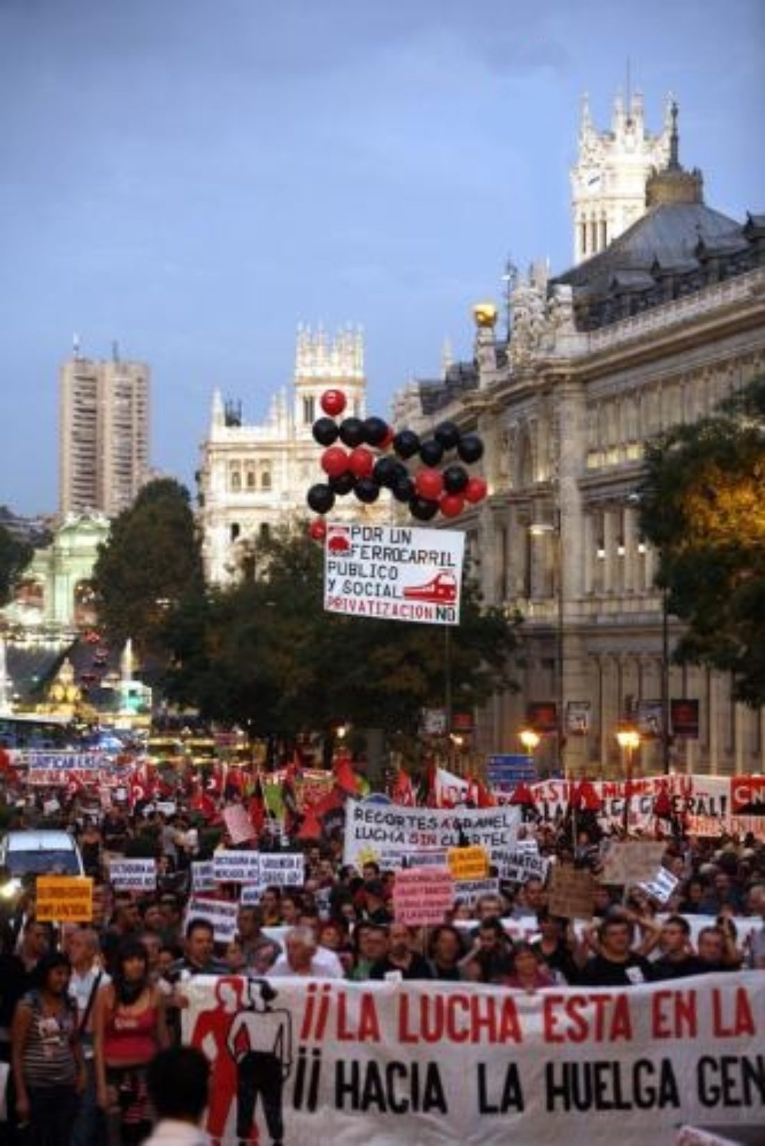 Acciones y Manifestaciones de la Jornada de Lucha 29S: Crónicas e imágenes