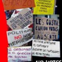 Campaña de CGT Barcelona: «El 20N no Votes. Abstención Activa»