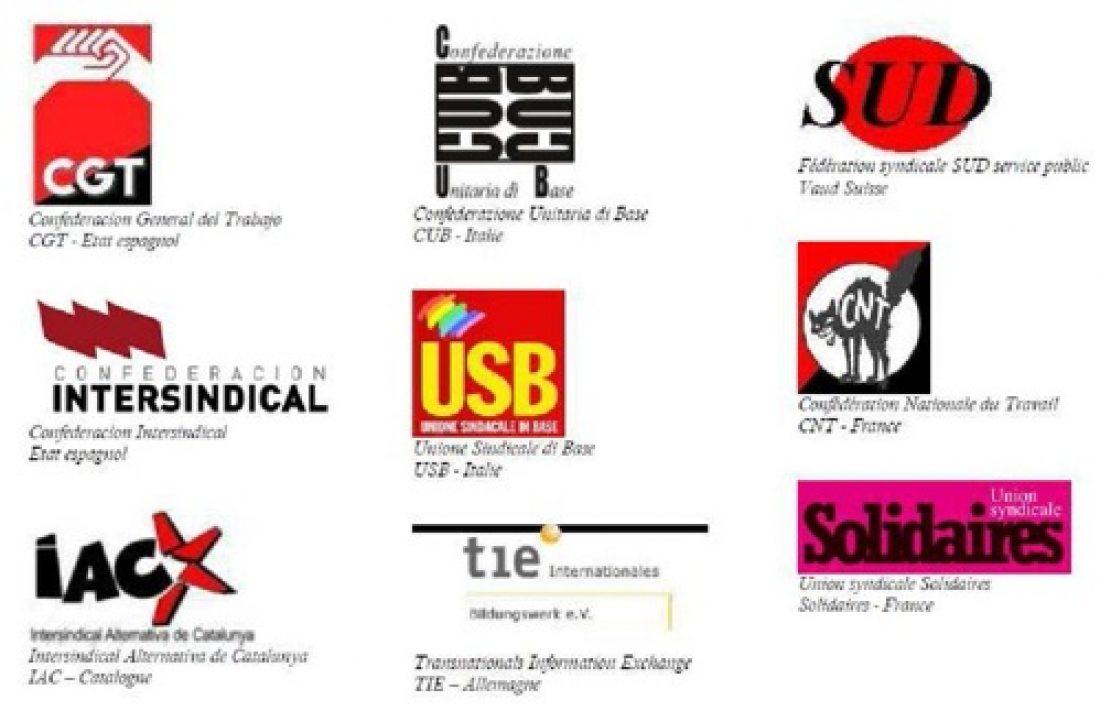 Comunicado de la Red Europea Sindicatos de Base: «15-O: No pagaremos su crisis! ¡Luchemos!»