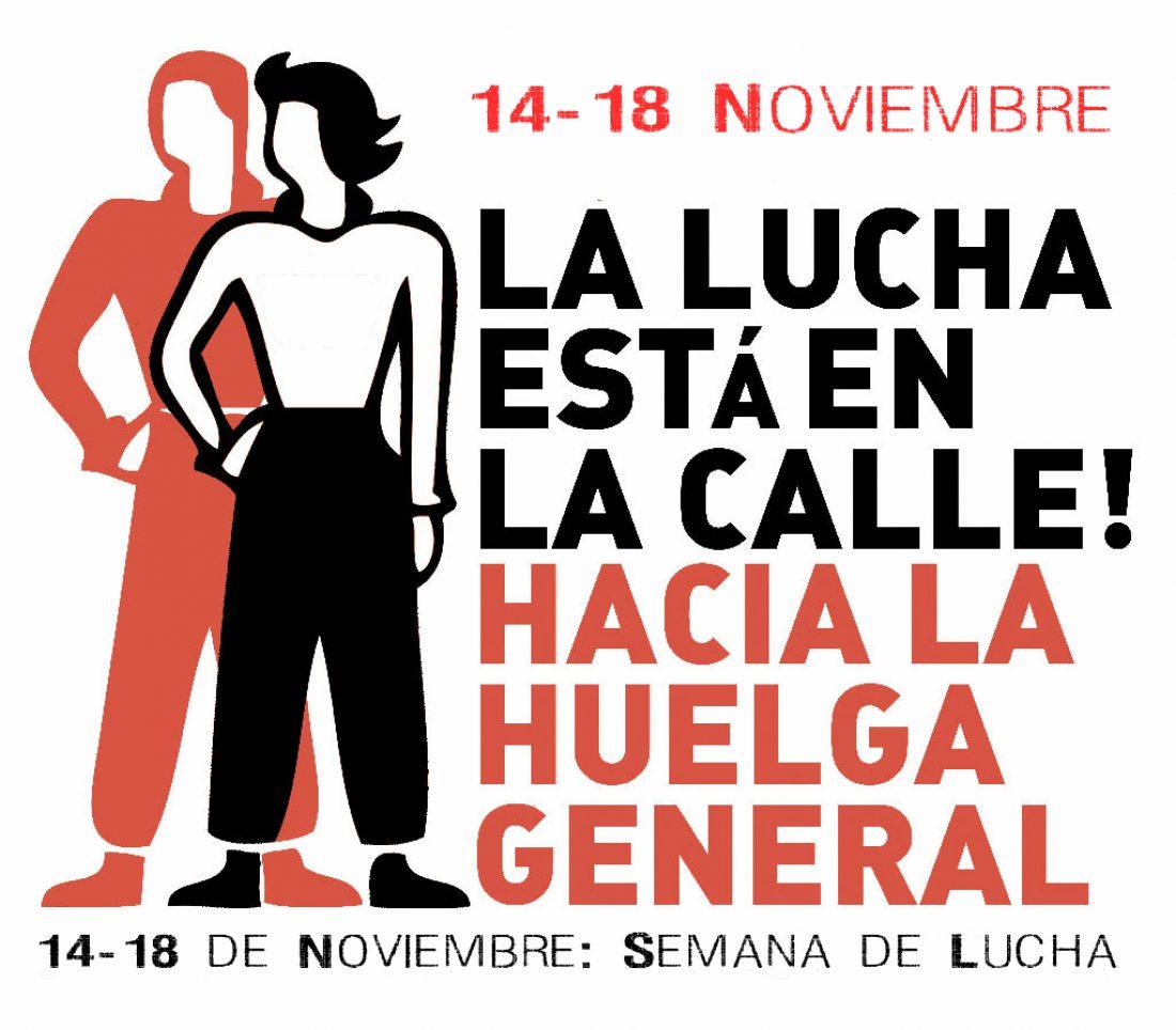 CGT-CNT-SO: Convocatoria de Semana de Lucha (14-18 Noviembre) contra el Pacto Social y por la Huelga General