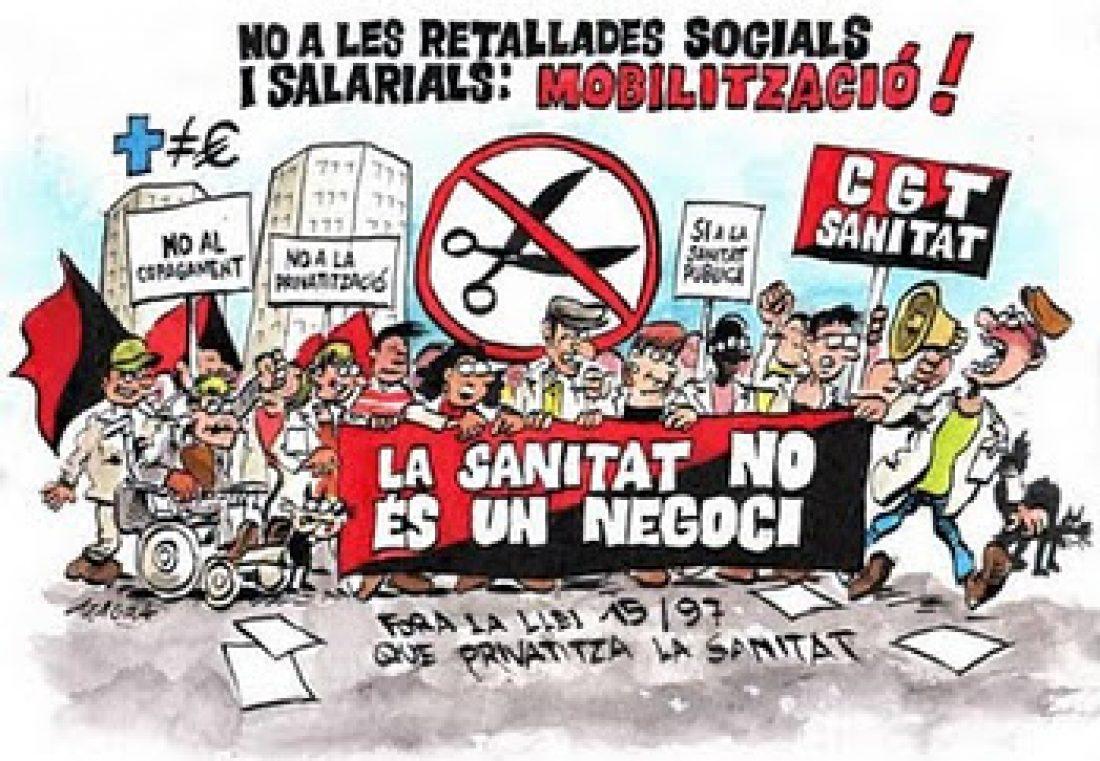 18 de Noviembre: CGT convoca huelga de 24 horas en la sanidad pública en Catalunya