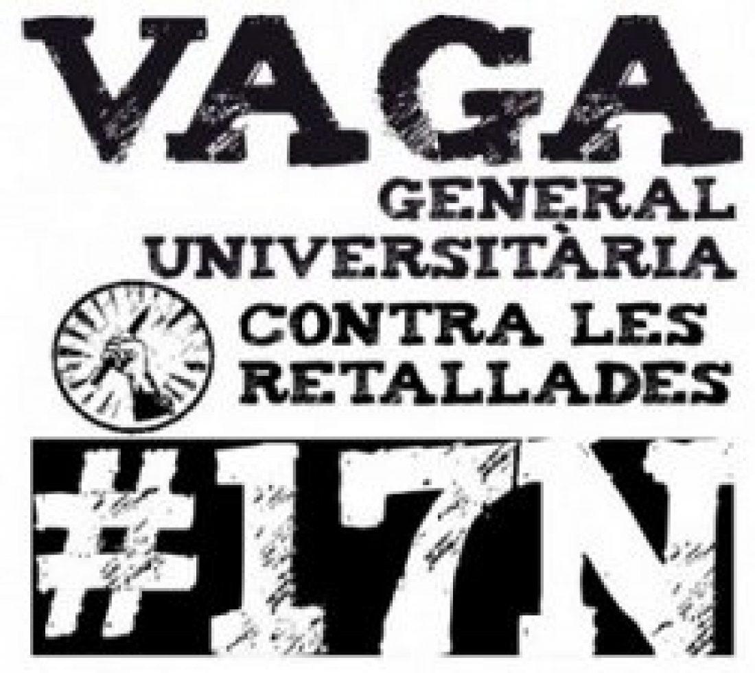 La CGT convoca el 17-N huelga de trabajadorxs en todas las universidades públicas catalanas y entes dependientes