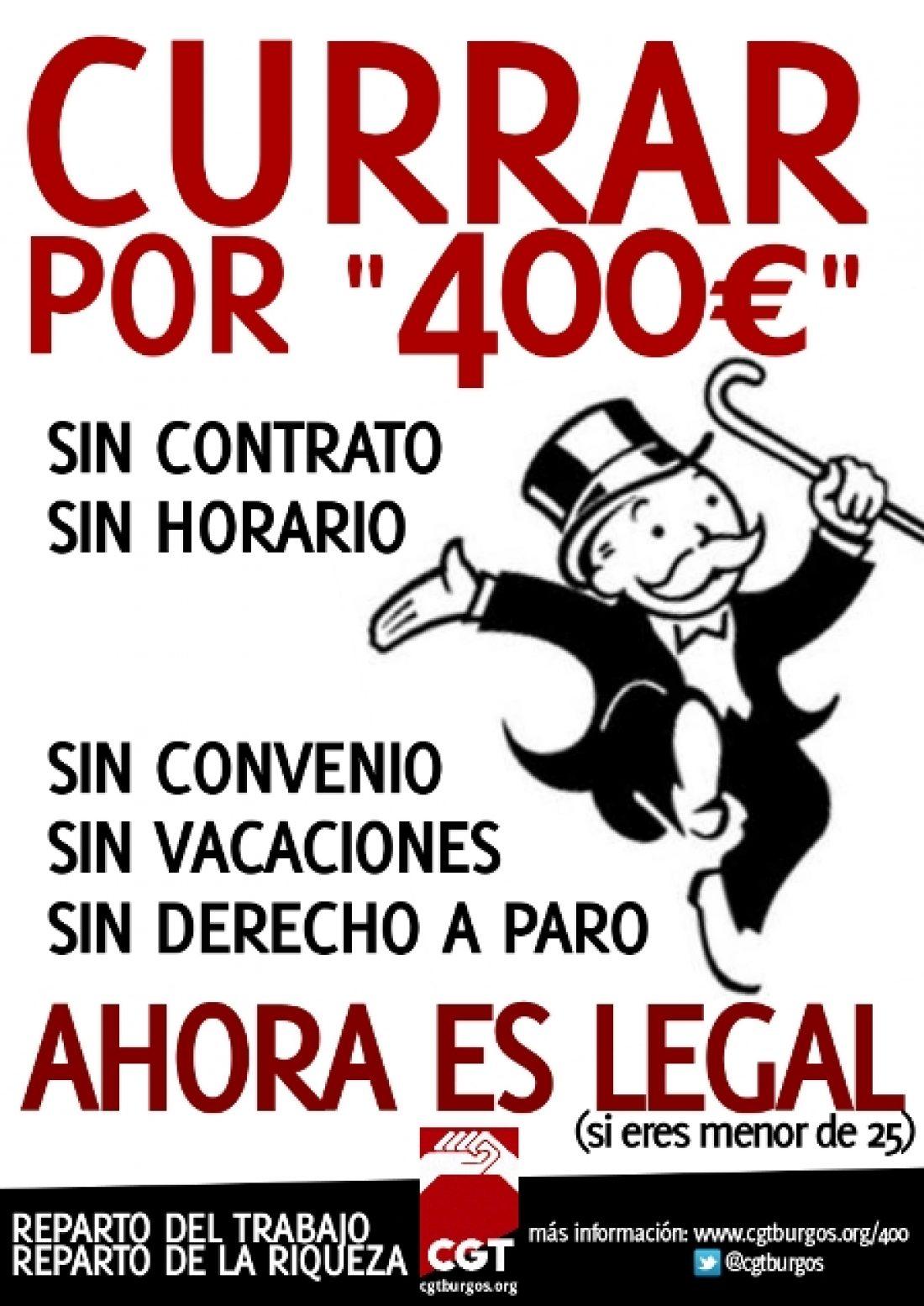 Currar por «400€» ahora es legal (si eres menor de 25 años)