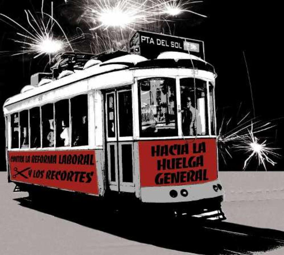 Madrid: Concentración contra la reforma laboral y los recortes